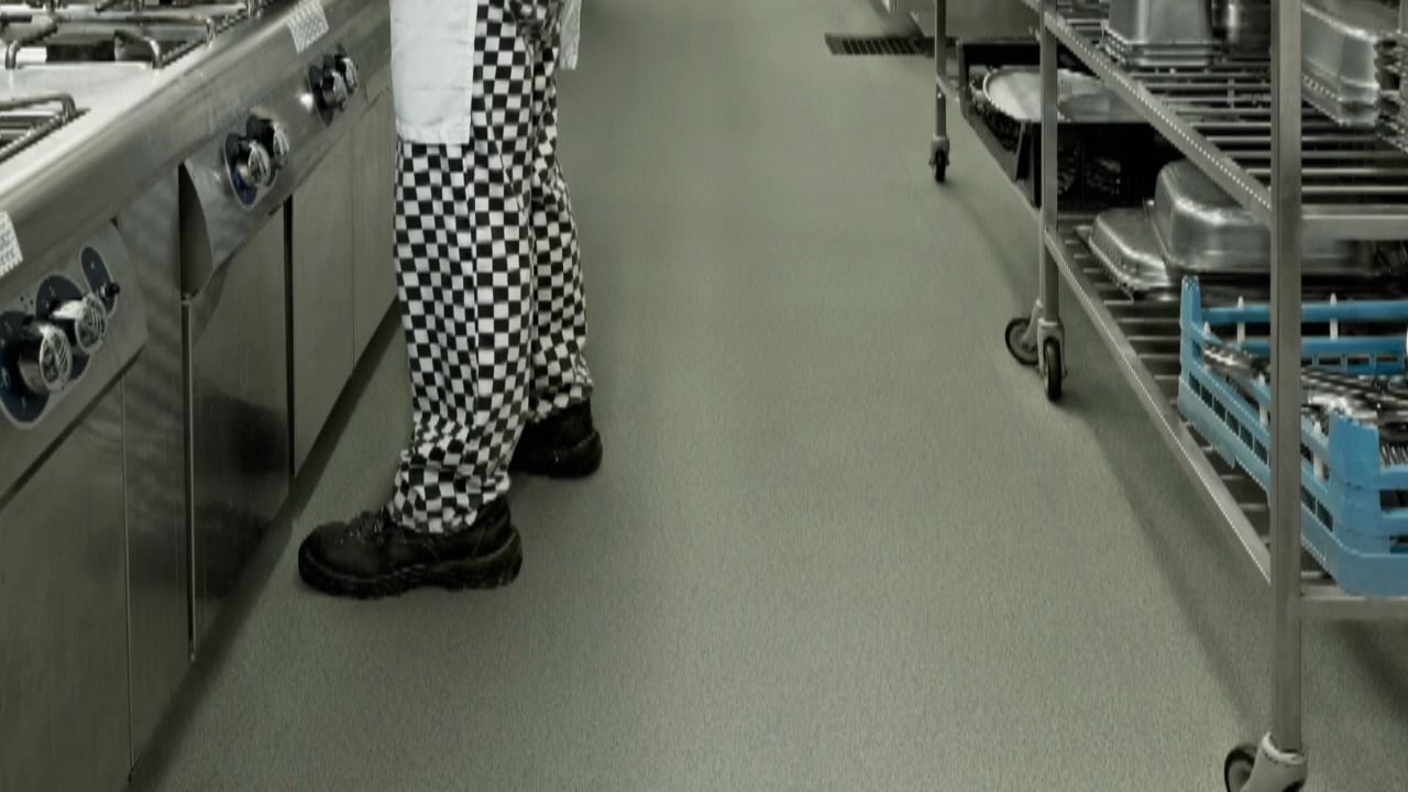 Polysafe Apex And Ultima Safety Flooring For Commercial Kitchens Polyflor